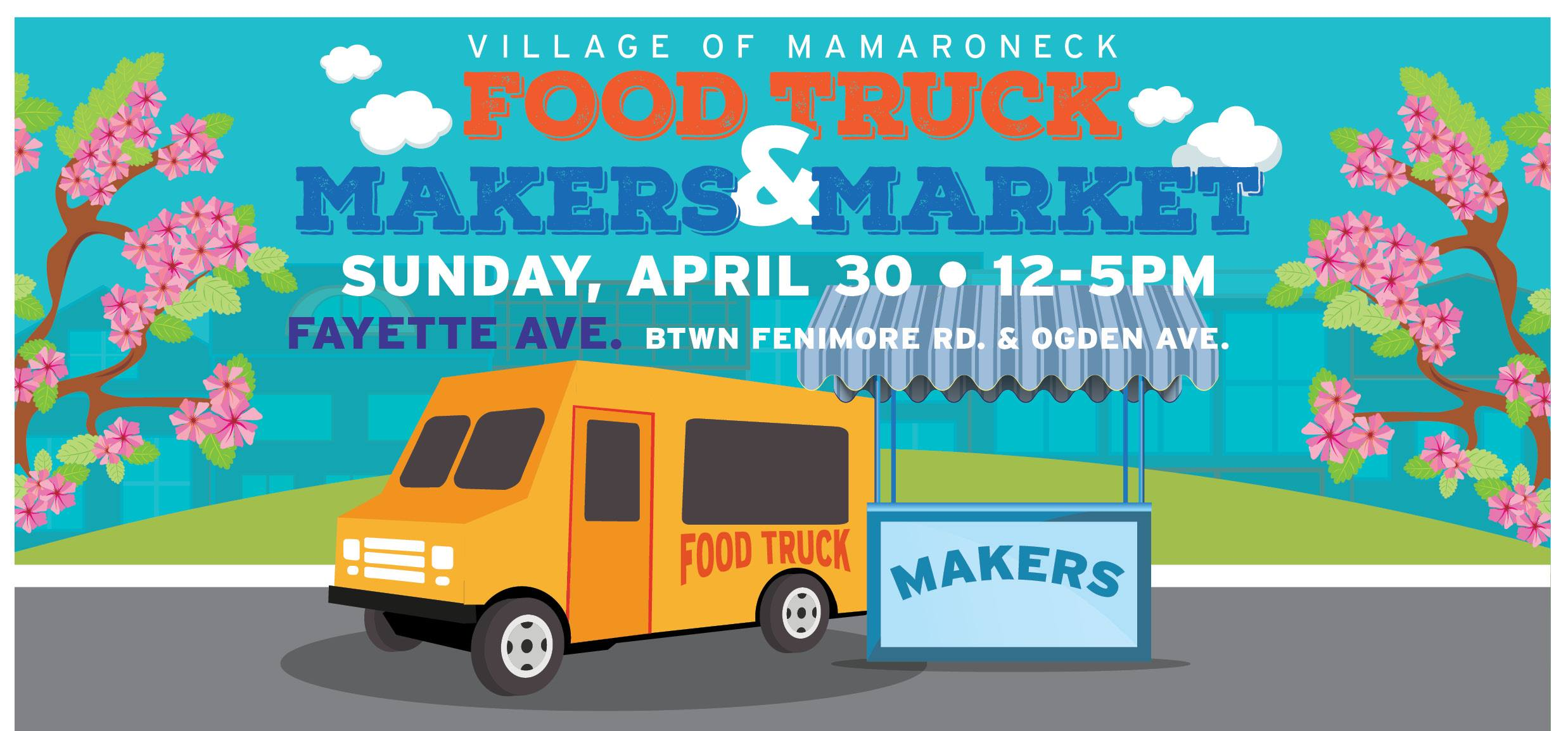 mamaroneck food truck and makers market spring macaroni kid