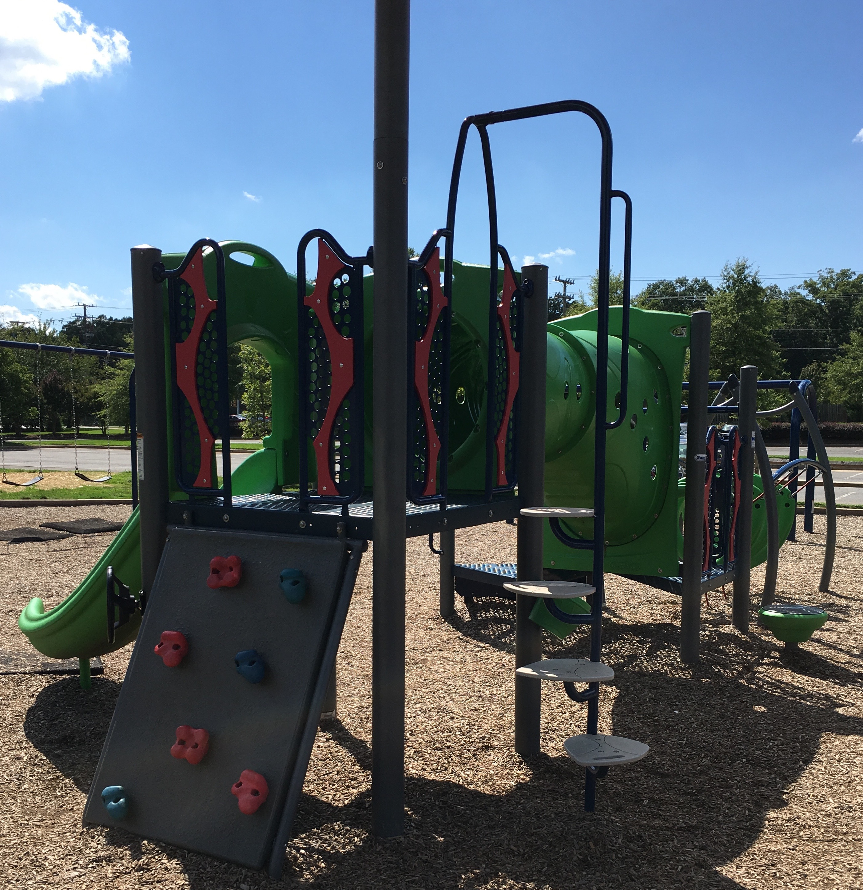 Playgrounds in Herndon Haley M Smith Park