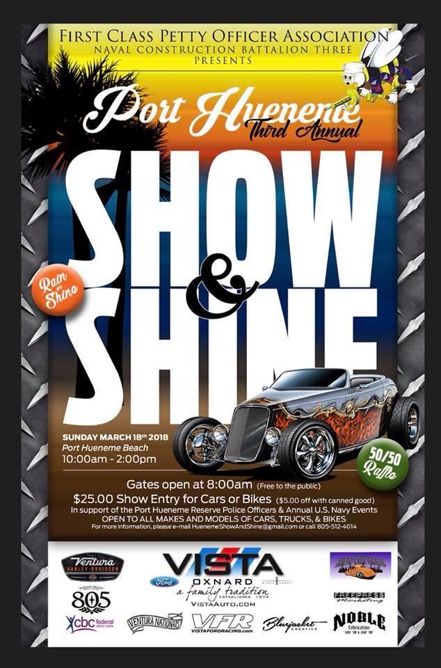 Pt Hueneme Show And Shine Car Show PT HUENEME Macaroni Kid - Car show sarasota square mall