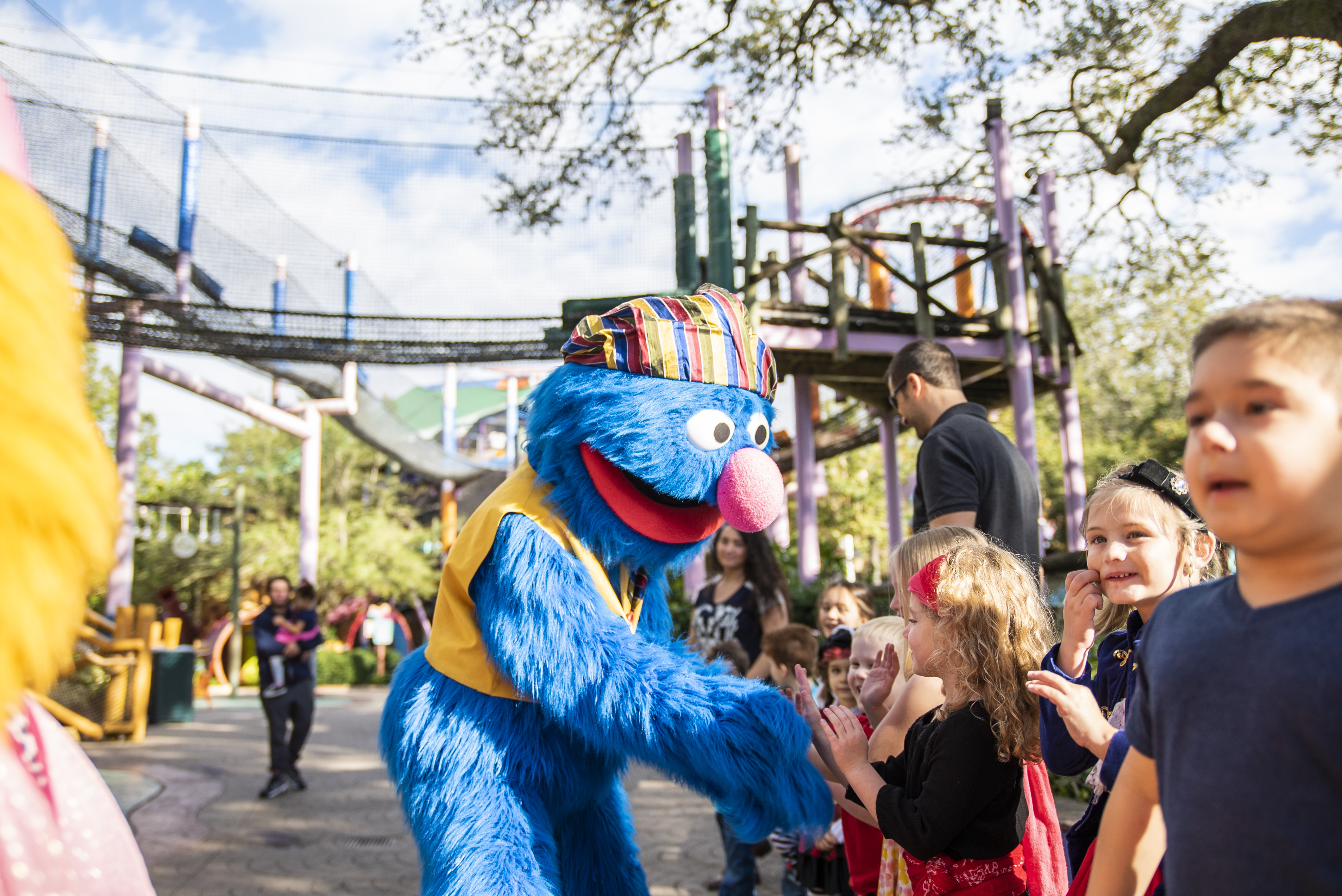 Meet Sesame Street® Characters this Season at Busch Gardens Tampa Bay