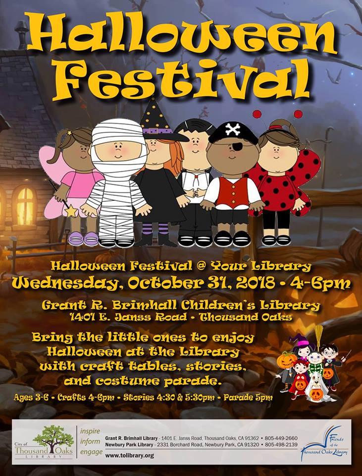 Children's Halloween Stories | Thousand Oaks Grant R Brimhall Children S Library Friendly