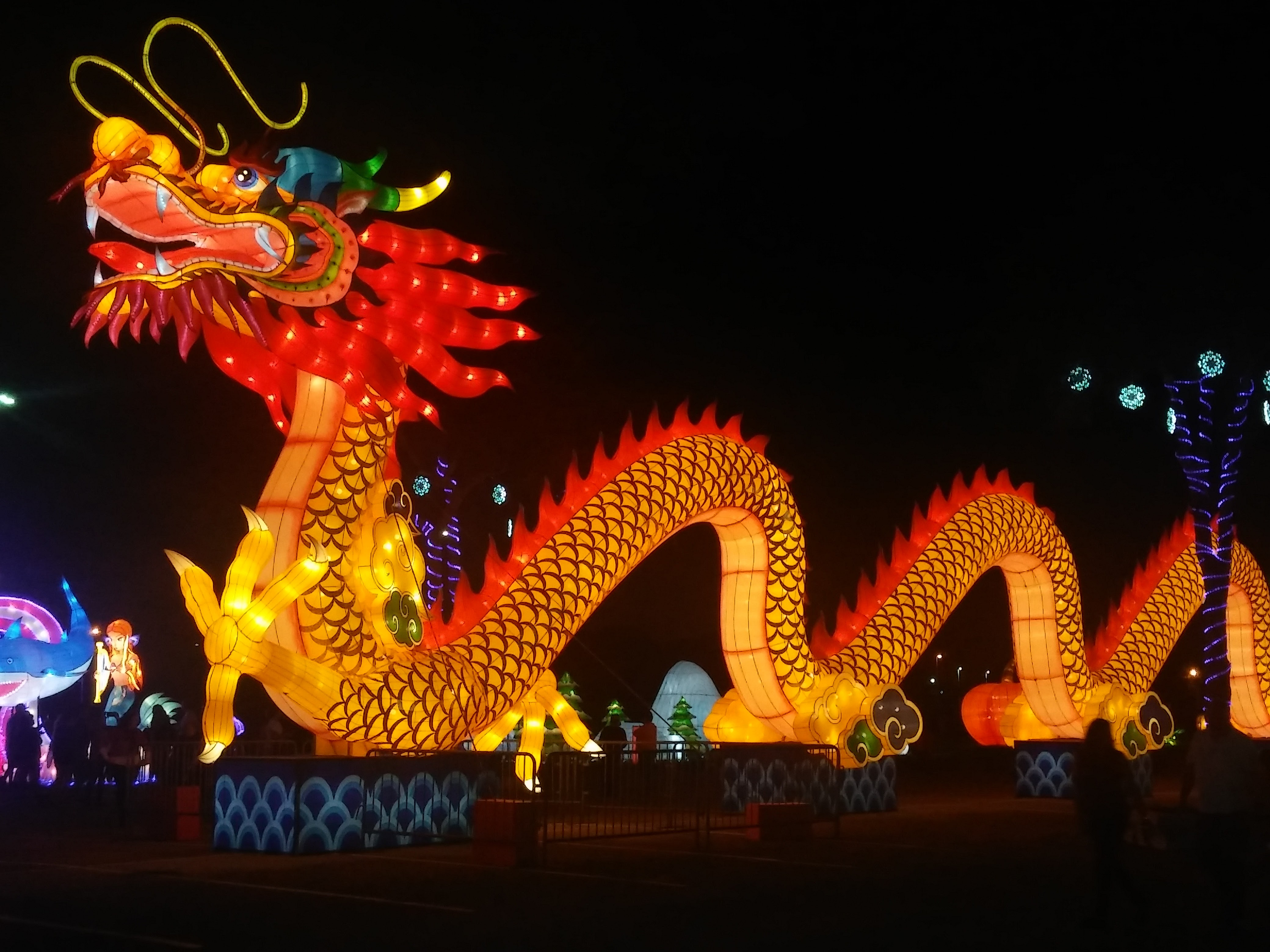 If You Love An Evening Full Of Festive Lights And Amazing Sights Bring Your Family To The Lantern Light Festival A Rare Opportunity Witness
