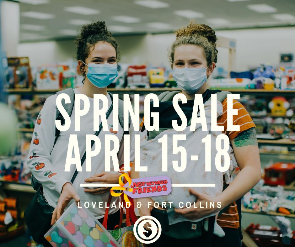 JBF Spring Sale April 15-18 2021