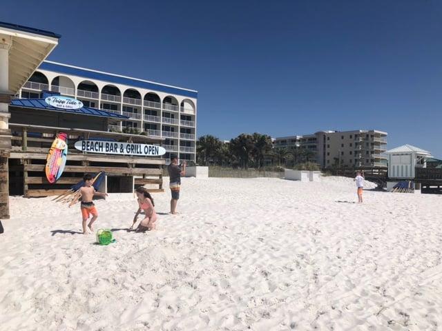 outside of Island Hotel, Florida