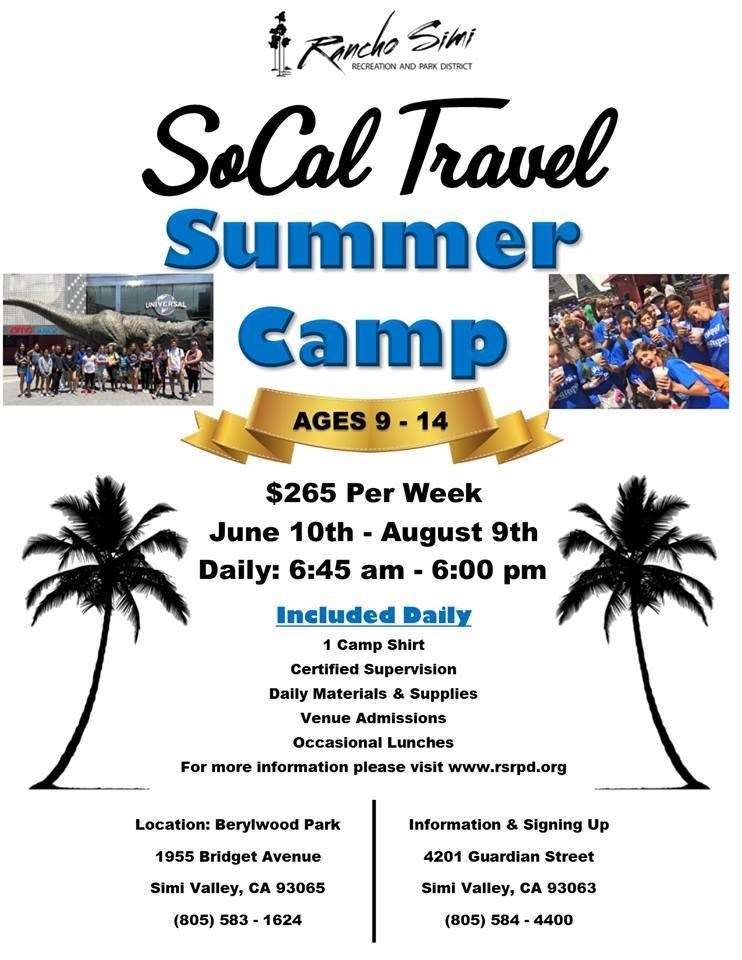 SUMMER CAMP GUIDE 2019 - Summer Fun at Rancho Simi Summer Camps