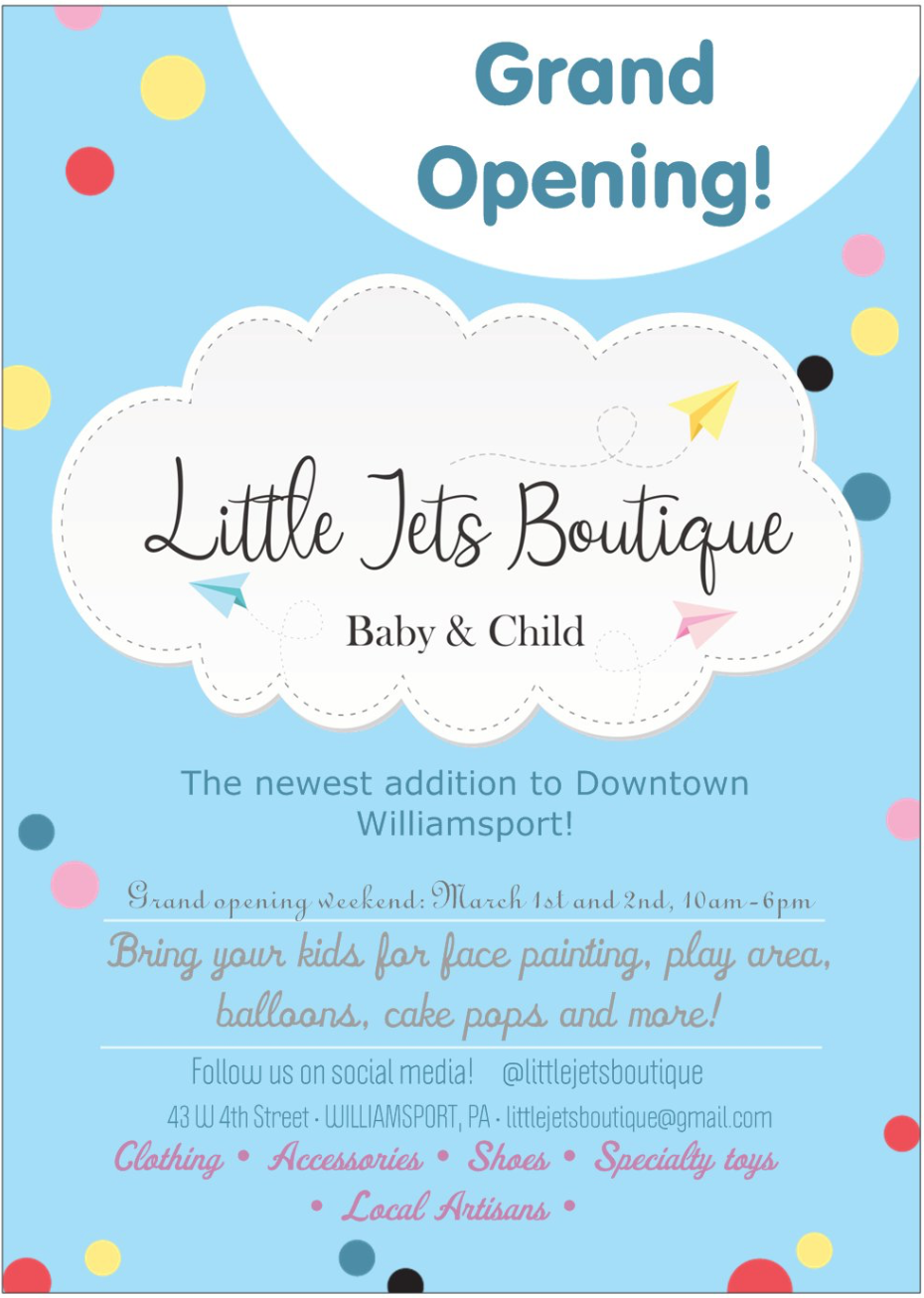 New Baby Child Boutique Coming To Williamsport Macaroni Kid Williamsport
