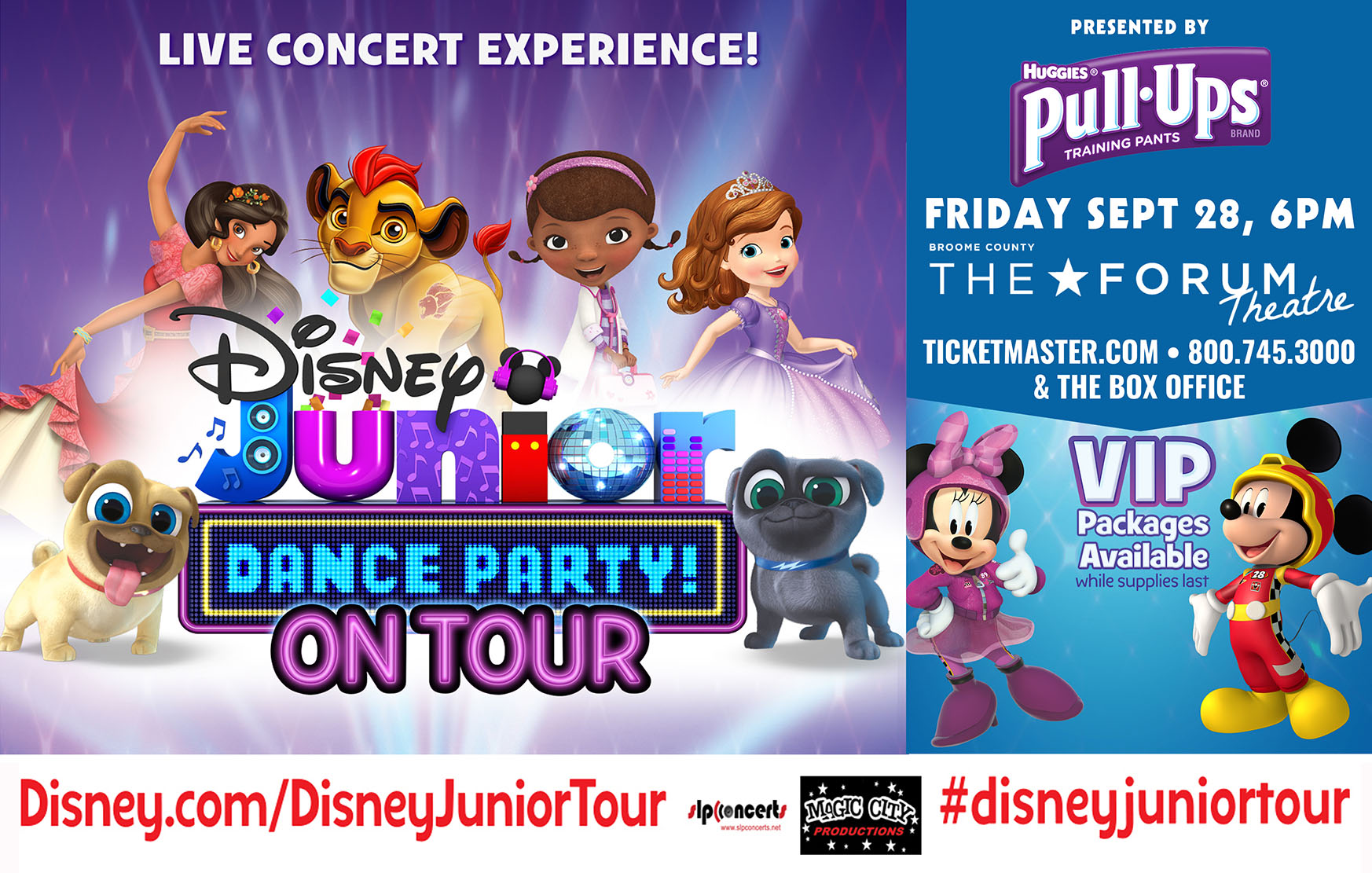 Disney Junior Dance Party On Tour in Binghamton