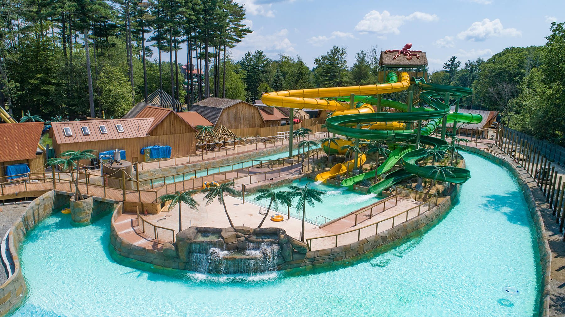 canobie lake park was chosen by times money magazine as one of the top 10 amusement parks in america they loved the untamed and boston tea party rides and