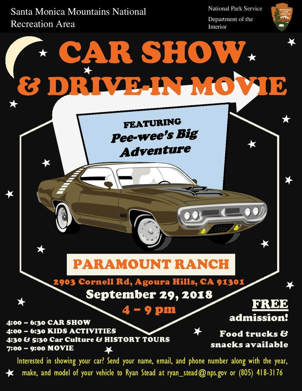 Paramount Ranch Car Show And Outdoor Drive In Movie Night AGOURA - Lakewood ranch classic car show