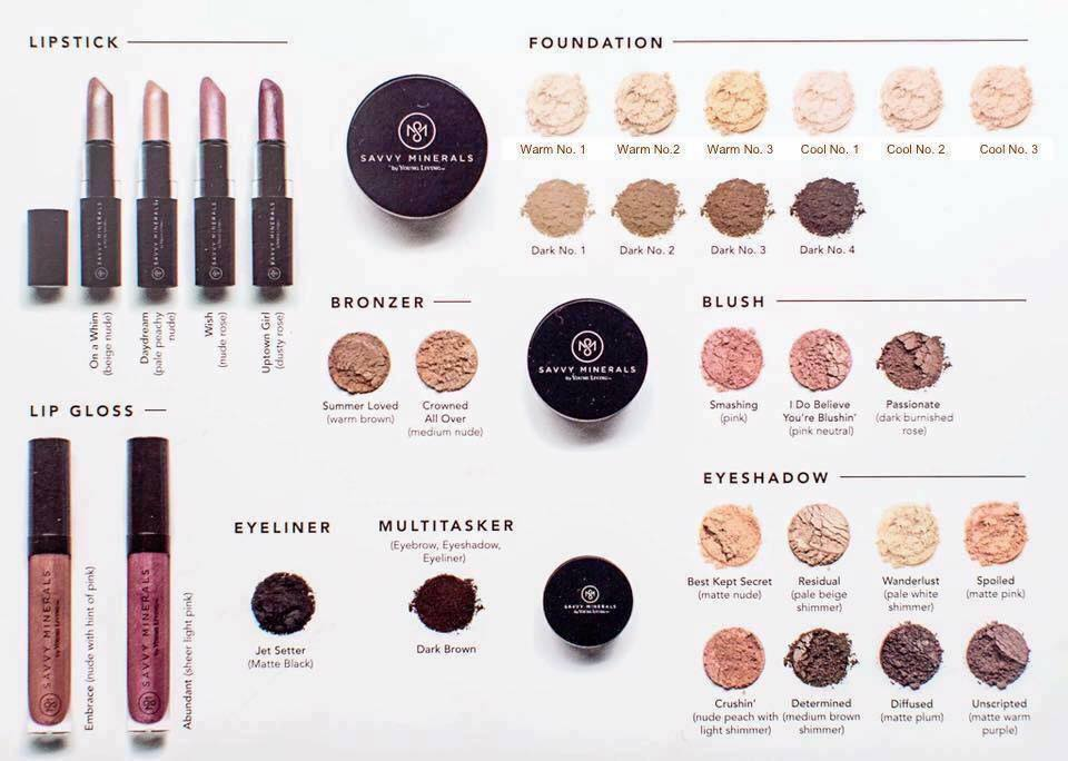 kristin cavallari and young living present their savvy minerals