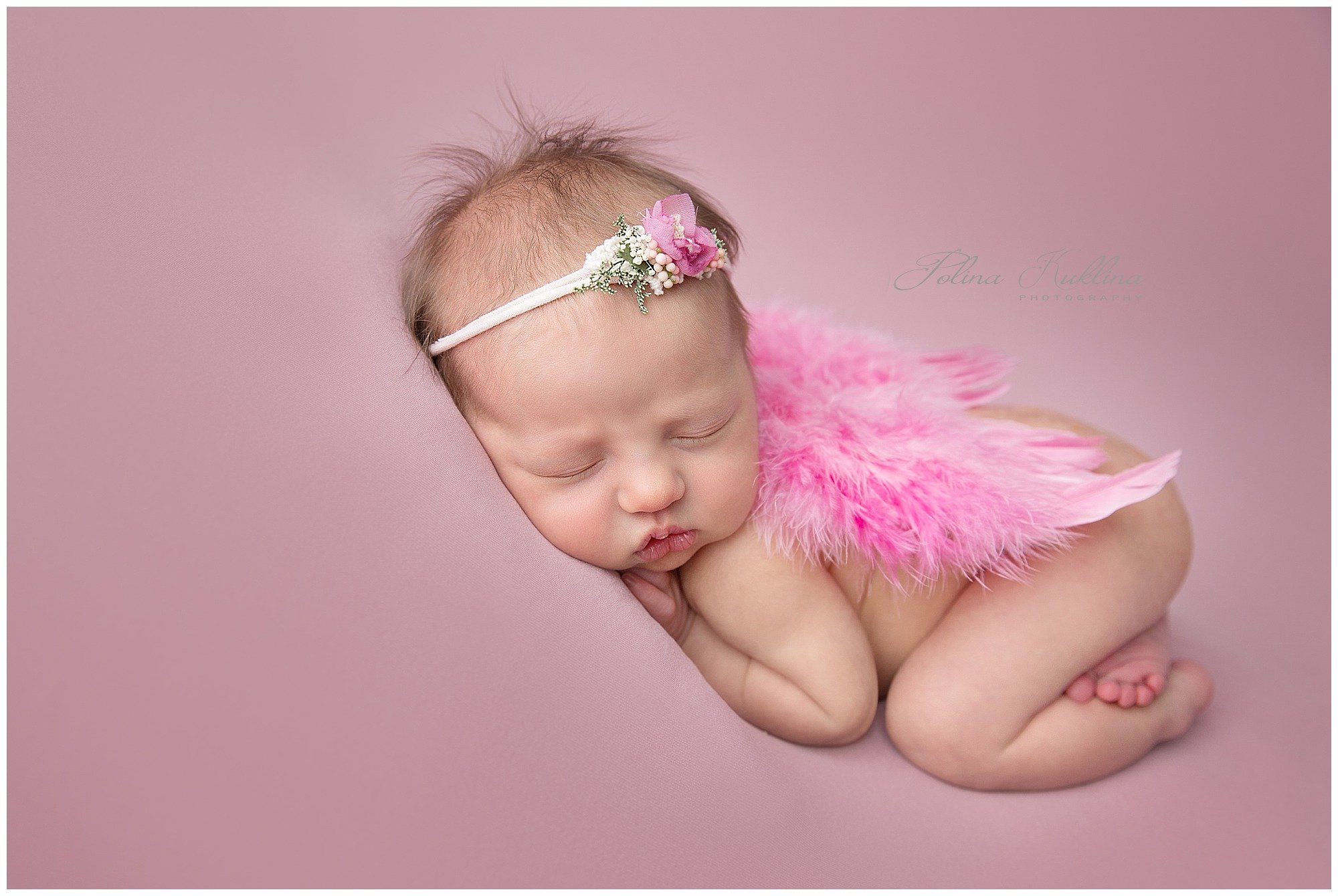 Polina is the first photographer in massachusetts to be designated a qualified newborn photographer