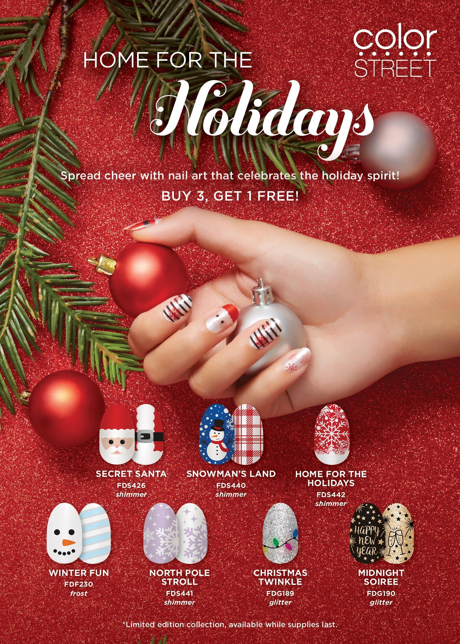 HAVE FESTIVE NAILS THIS HOLIDAY SEASON WITH COLORSTREET | Macaroni Kid