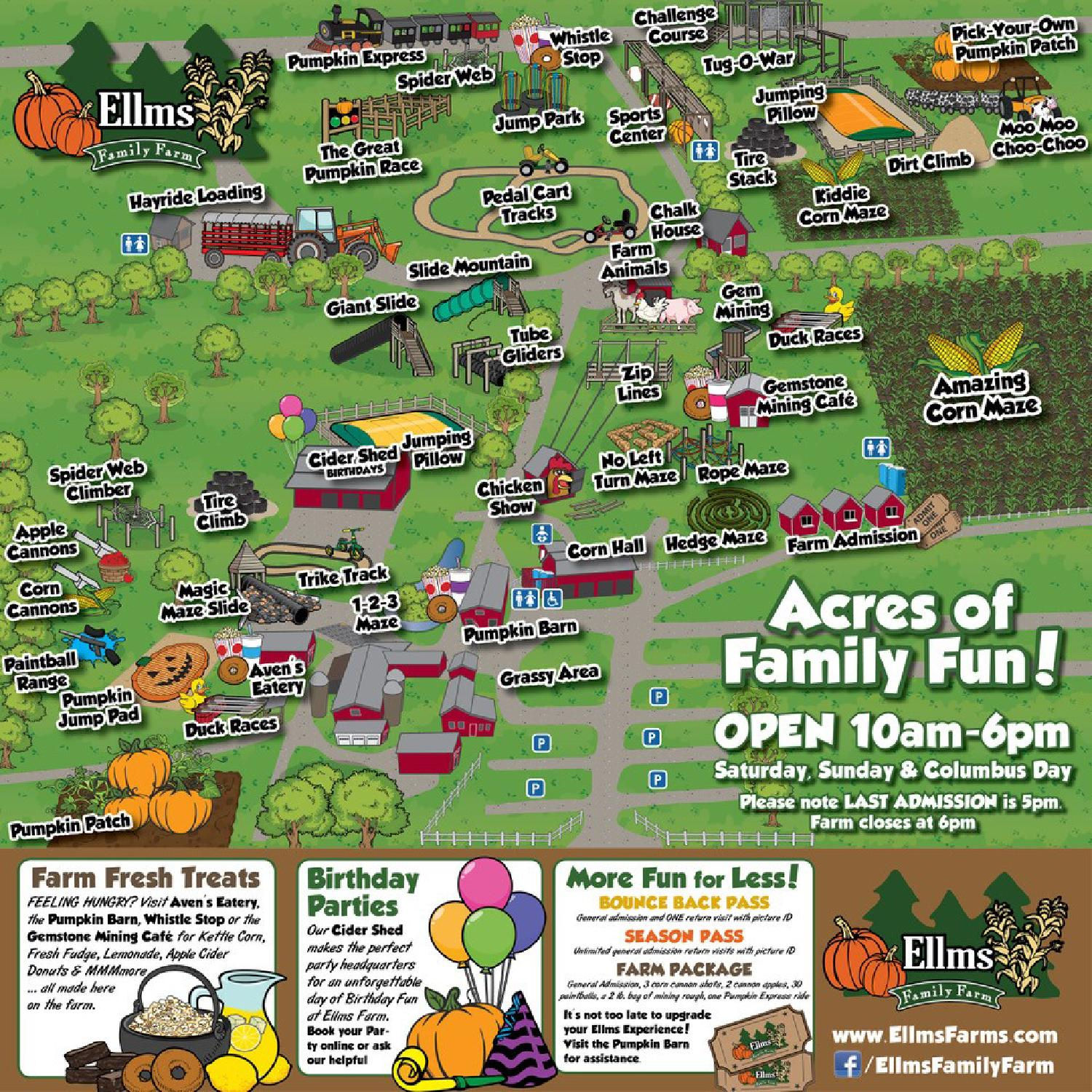 Giveaway Win A Family 4 Pack Of Tickets To Ellms Family Farm