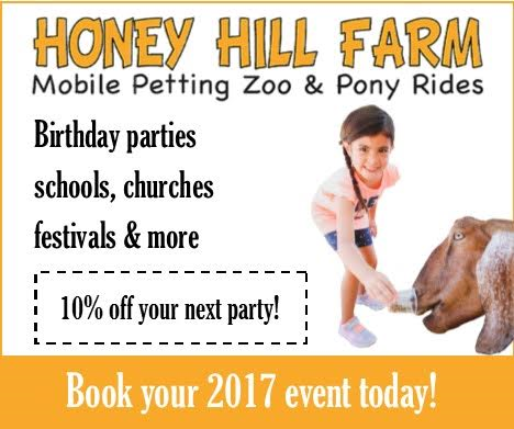 Petting zoos and pony rides the perfect addition to your next