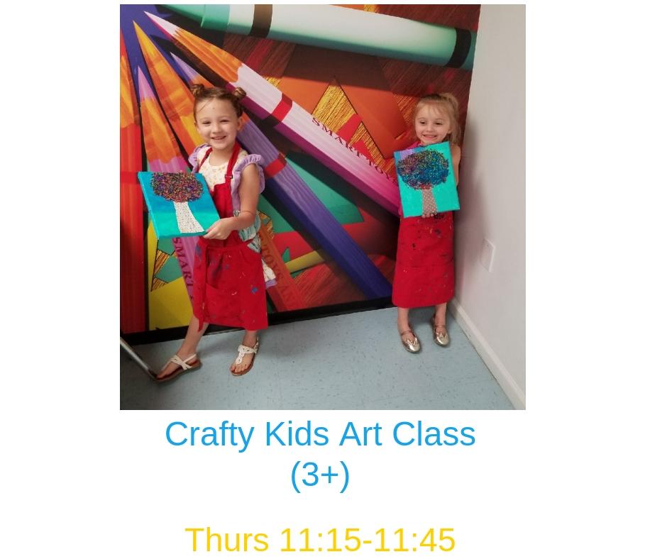 Crafty Kids Art Class Parent Child Macaroni Kid