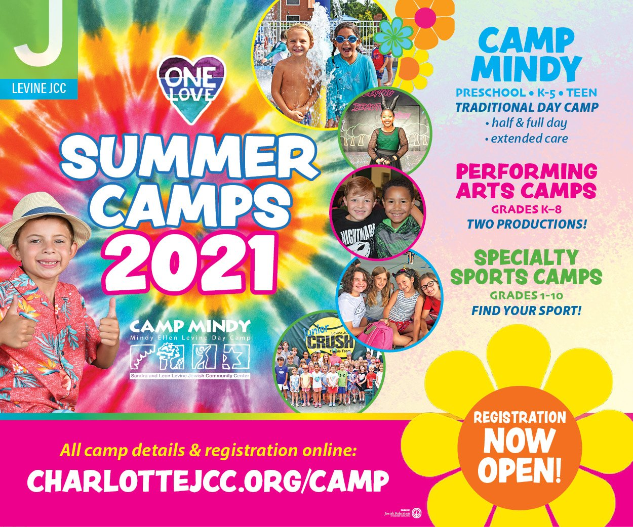 summer camps at the Levine JCC
