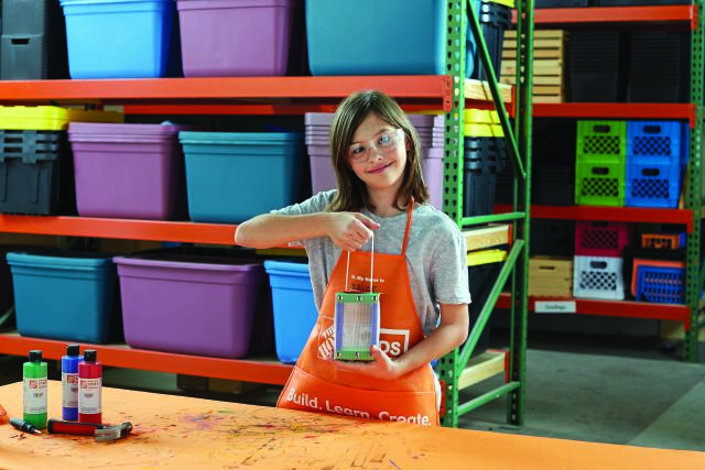 The Home Depot Kids Workshop Macaroni Kid