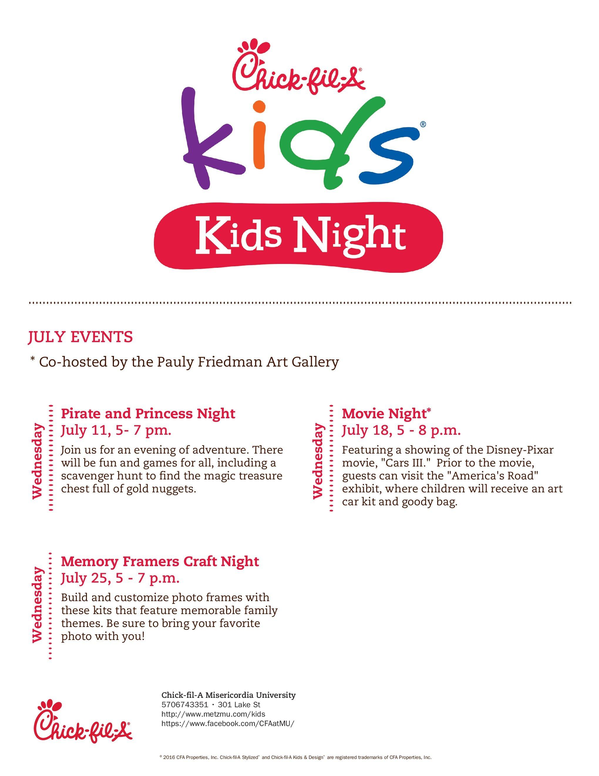 Princess and Pirate Night at Chick-fil-A | Macaroni Kid