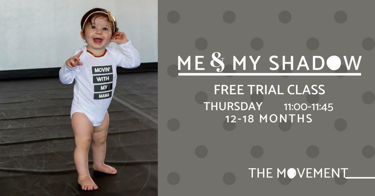 Free Me & My Shadow Class (age 12-18 months) at The Movement Dance