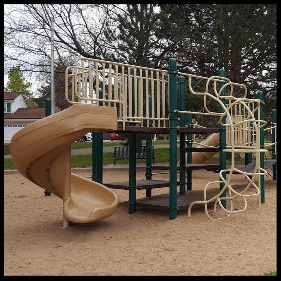 Playground at Southmoor Park in Denver, Colorado