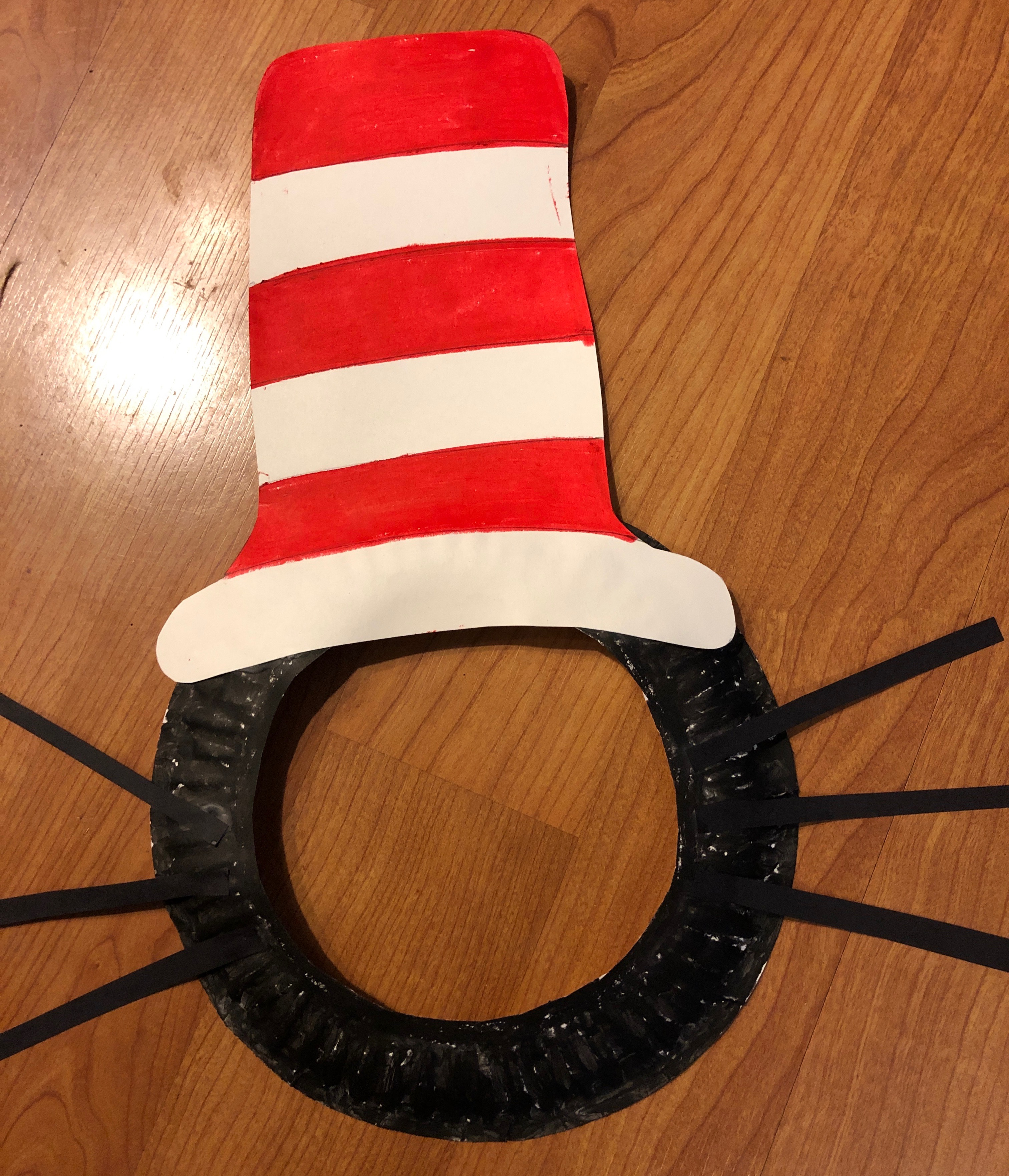 c48312abeab Celebrate Dr. Seuss s Birthday March 2 With a Cat in the Hat Craft ...