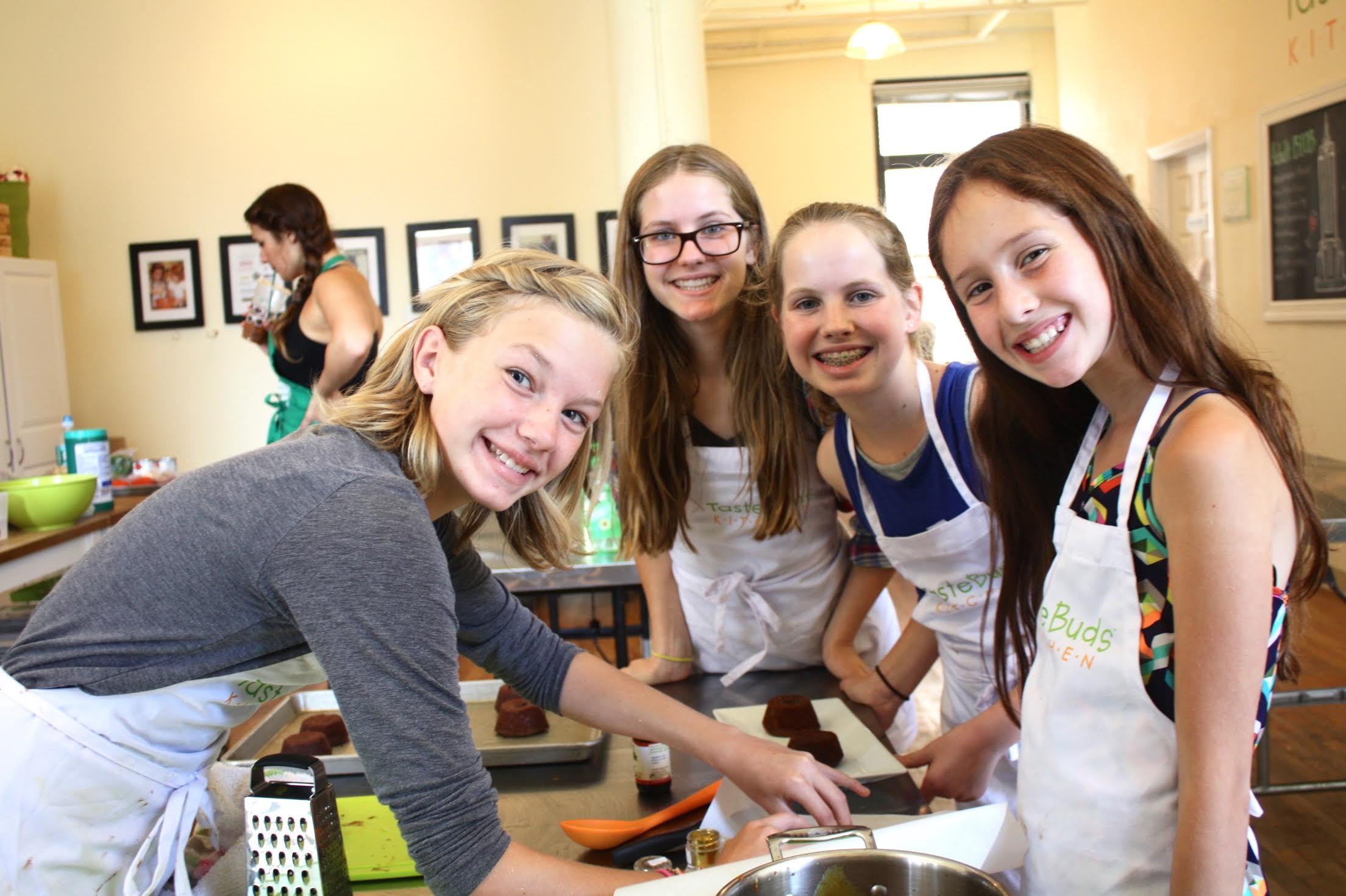 Superior When School Is Closed, Taste Buds Kitchen Is Open!  Every Day We Make Two  To Three Recipes U2013 Always One Savory And One Sweet U2013 While Whipping Up  Batches Of ...
