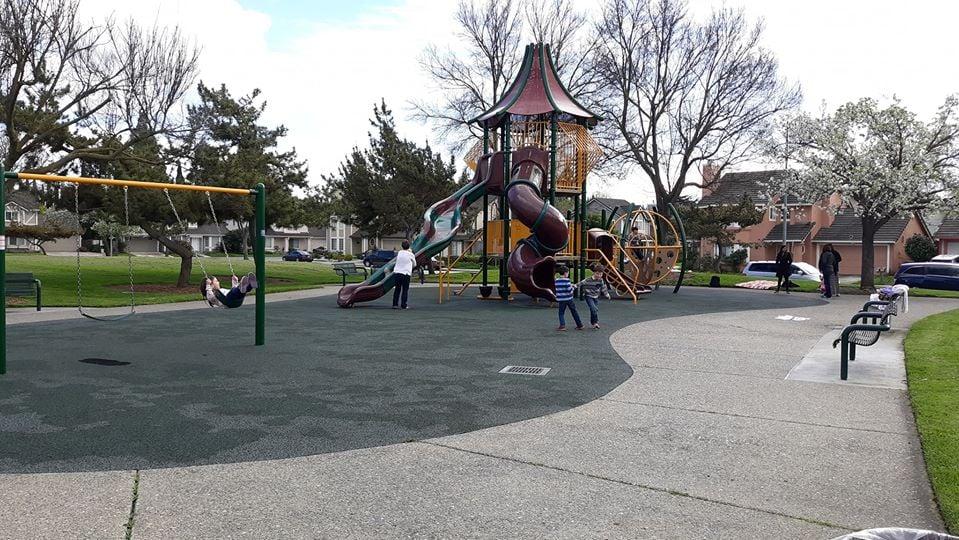 California Terrace Park in Fremont