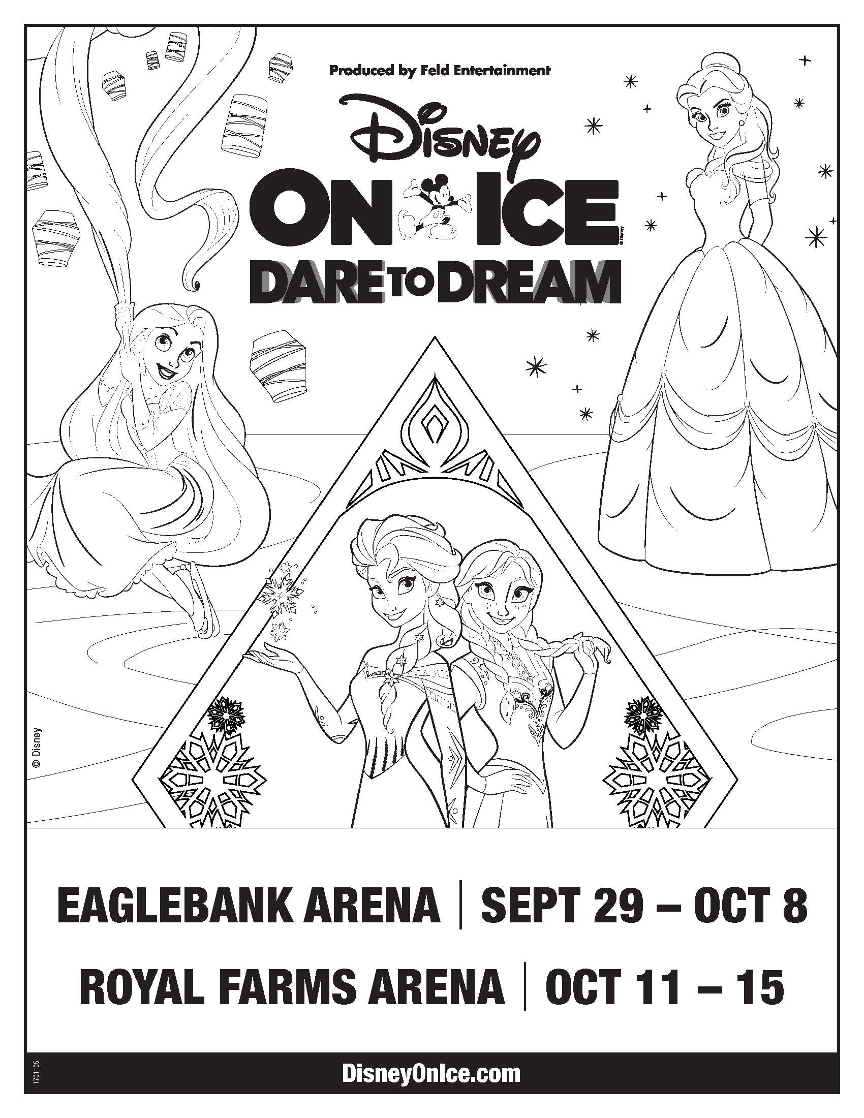 Disney on Ice: Discount Code, Trivia and Coloring Sheet | Macaroni Kid
