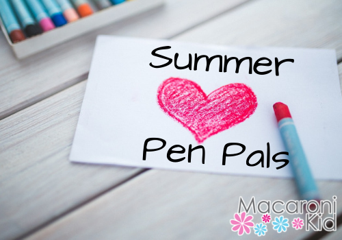 Sign Your Child up for our Pen Pal Program!