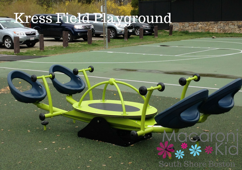 Kress Field Playground Hingham Macaroni Kid
