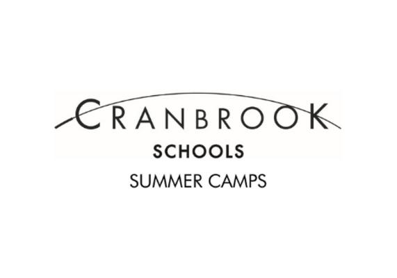 Text reads Cranbrook Schools Summer Camps