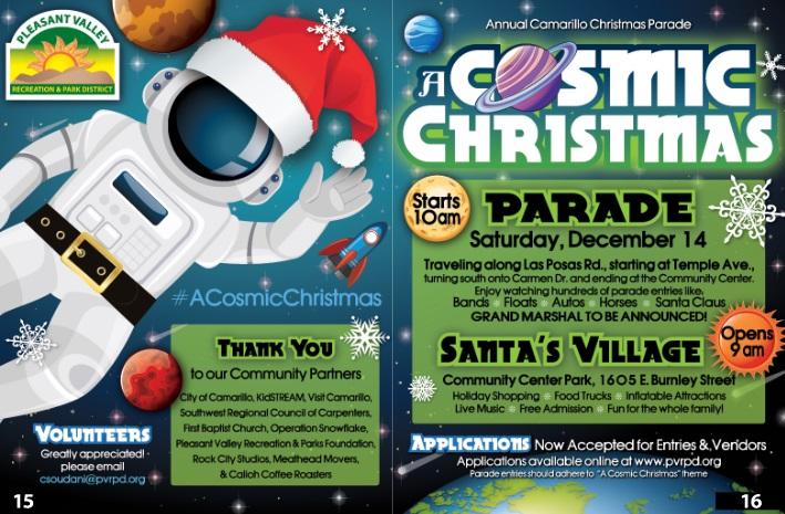 Camarillo Christmas Parade.The 58th Annual Camarillo Christmas Parade Santa S Village