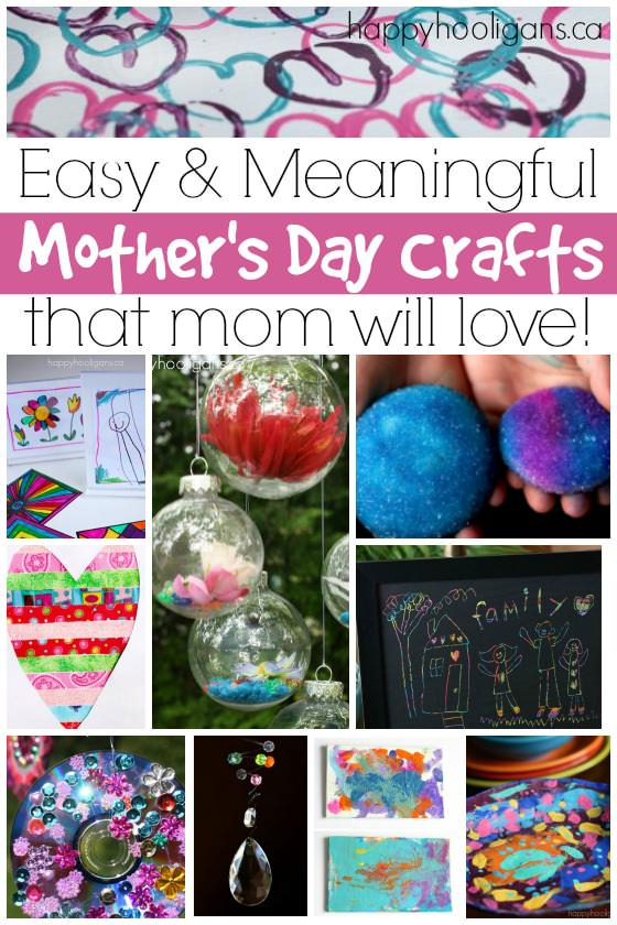 More Easy Awesome Mother S Day Crafts For Kids To Make Macaroni Kid