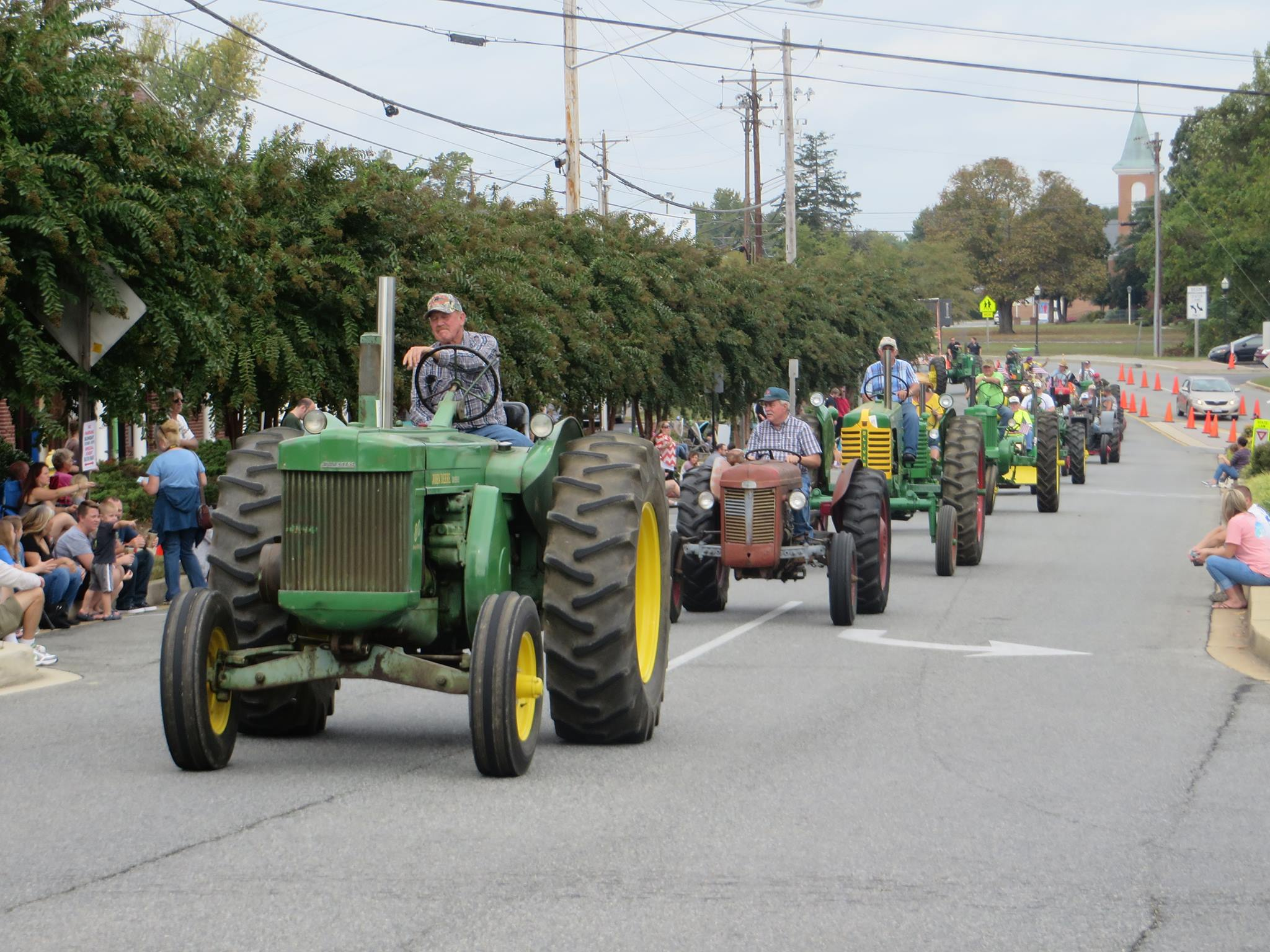 Annual Antique Tractor & Truck Parade   Macaroni Kid