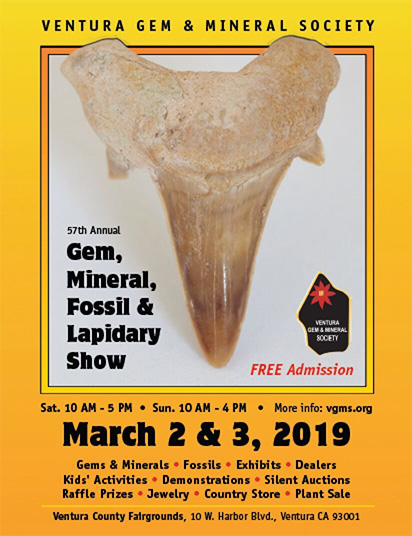 The Ventura Gem Show 57th Annual Gem Mineral Lapidary Fossil