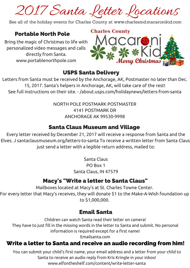 How and where to send your letters to santa claus macaroni kid kids love to track where santa is at any given time norad tracks santa is a fun website for kids to follow santas movements spiritdancerdesigns Image collections