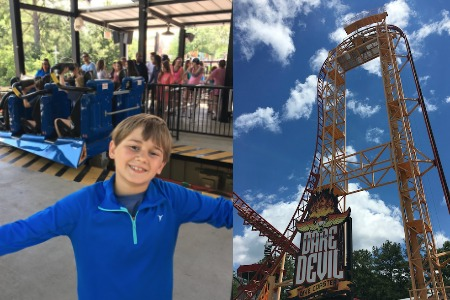 Six Flags Over Georgia - Fun With The Flash Pass