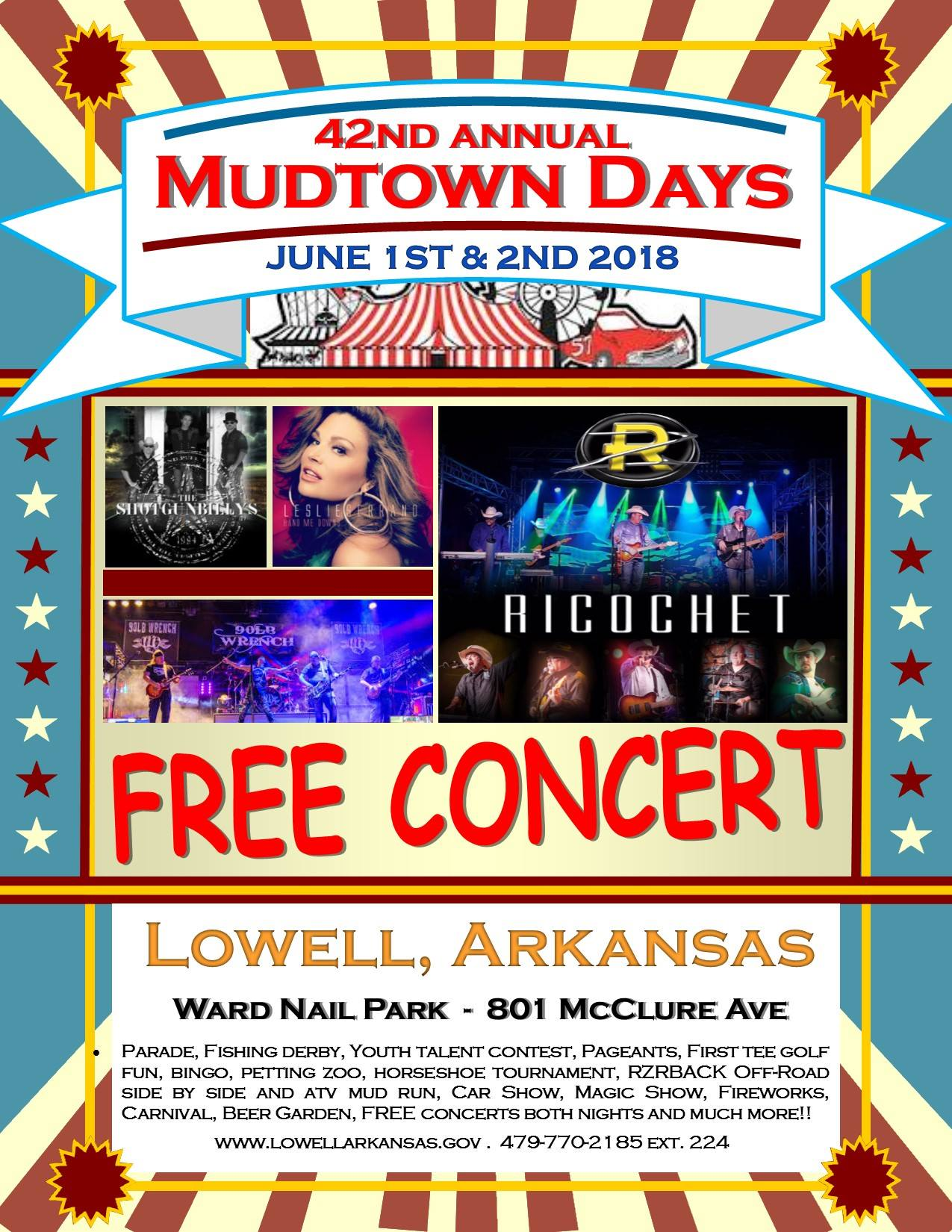 42nd Annual Mudtown Days Celebration - Lowell   Macaroni Kid