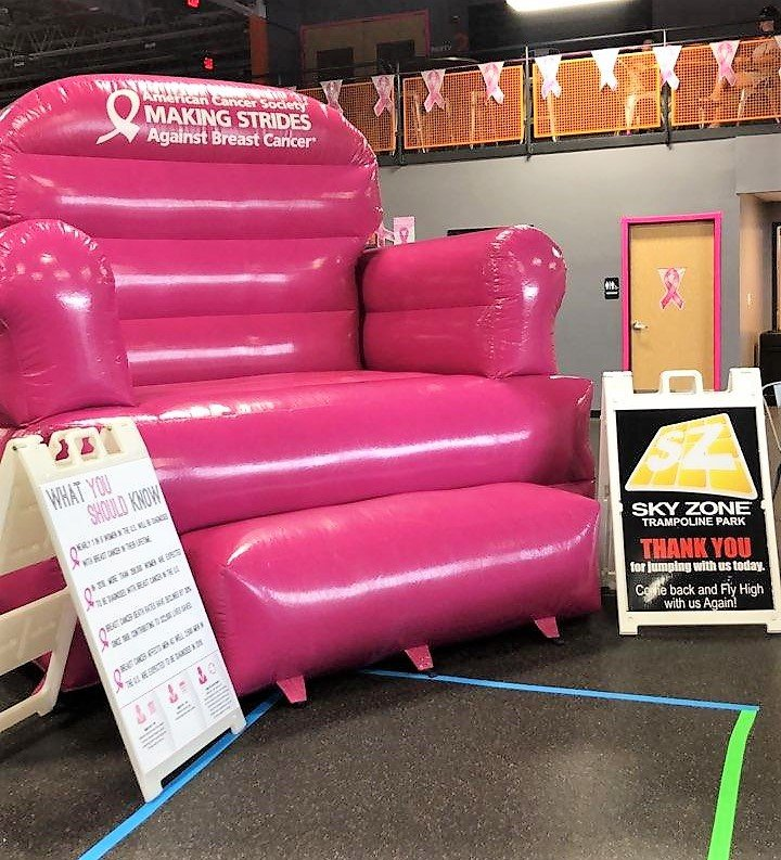 The Big Pink Chair Is Ready For You!
