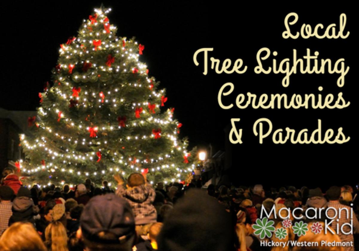 Statesville Christmas Parade 2021 Local Tree Lightings Parades Macaroni Kid Hickory Western Piedmont