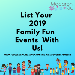 Events & Activities for Kids and Families, College Park-East