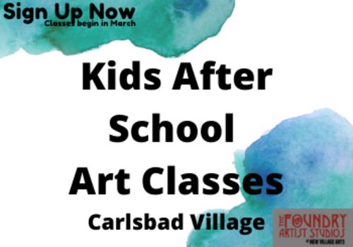Kids Art Classes Carlsbad Village