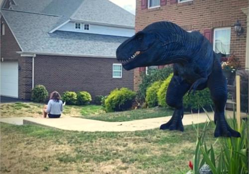 dinosaurs in Google AR