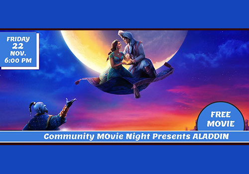 MC Parks Community Movie Night - Aladdin
