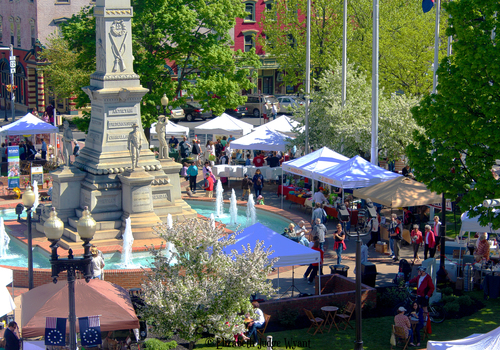 easton farmer's market opening day may 4