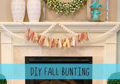 DIY fall bunting