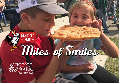 Miles of Smiles at Canfield Fair