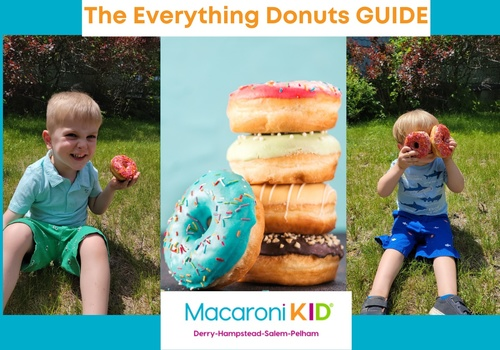 Everything Donut Guide Greater Derry NH