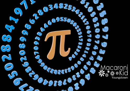 Events for Pi Day in Youngstown and Mahoning Valley