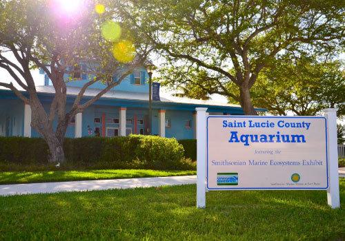 St Lucie County Aquarium featuring the Smithsonian Marine Ecosystem Exhibit